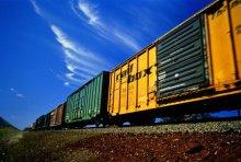 Трансконтейнер запустил поезд по маршруту Москва - Владивосток.
